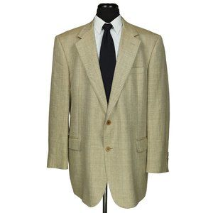 Brooks Brothers Italy Silk Linen Wool Sport Coat